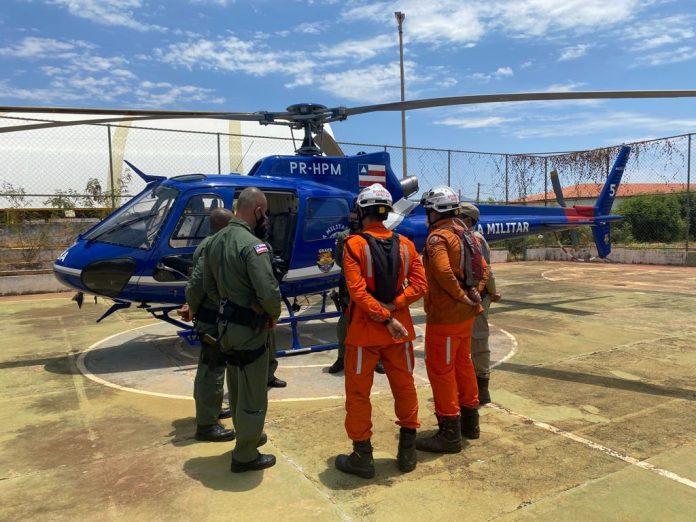 Operação de combate à incêndios florestais é iniciada em Livramento, Rio de Contas e Érico Cardoso